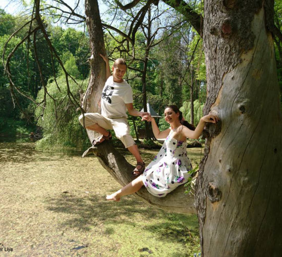 Романтика в парке