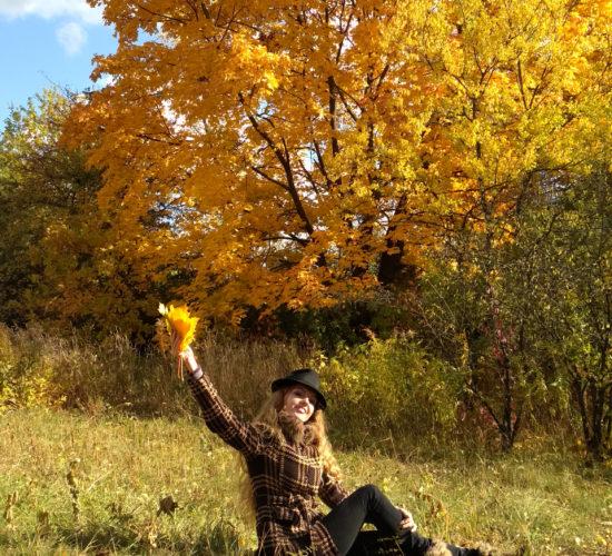 Осенняя съемка
